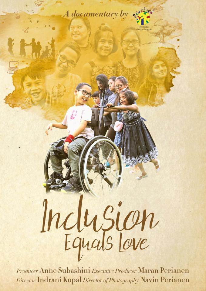 INCLUSION EQUALS LOVE